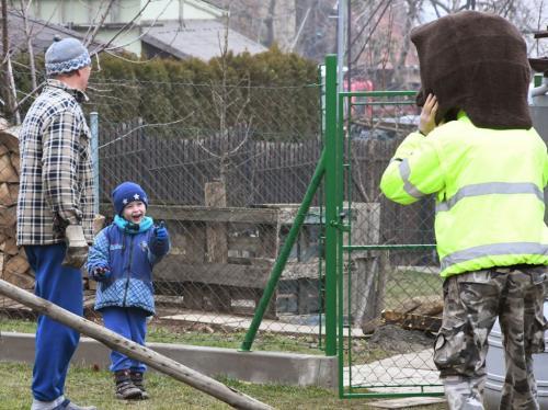 Vodění medvěda