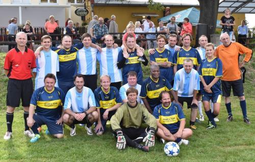 Fotbal s Arabelou